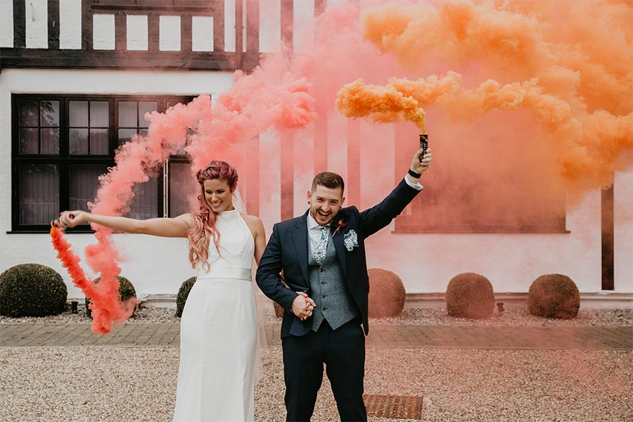 Nicki Shea Photography, smoke grenades