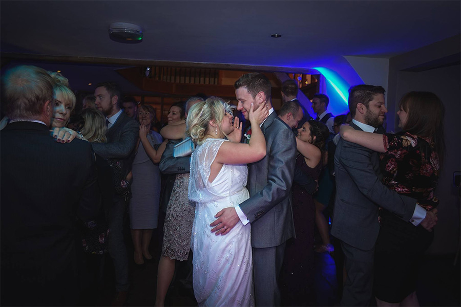 Alternative first dance ideas - Guests joining
