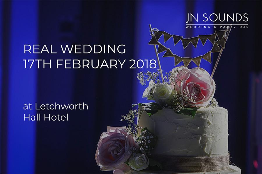 Wedding blog, Letchworth Hall Hotel | JN Sounds