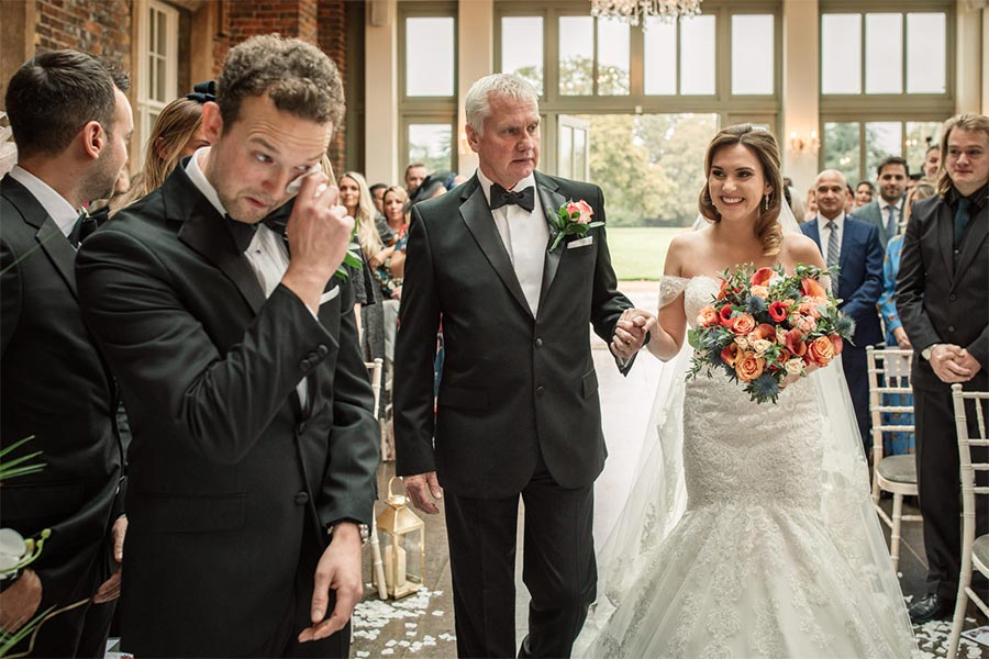 Wedding ceremony Becky Harley Photography
