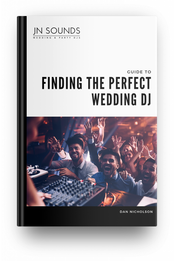 Finding the perfect wedding DJ ebook | JN Sounds