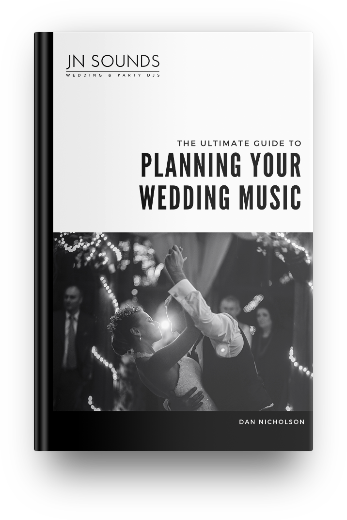 Ultimate guide to planning wedding music | JN Sounds